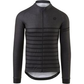 AGU Essential Melange LS Jersey Men, gris/negro
